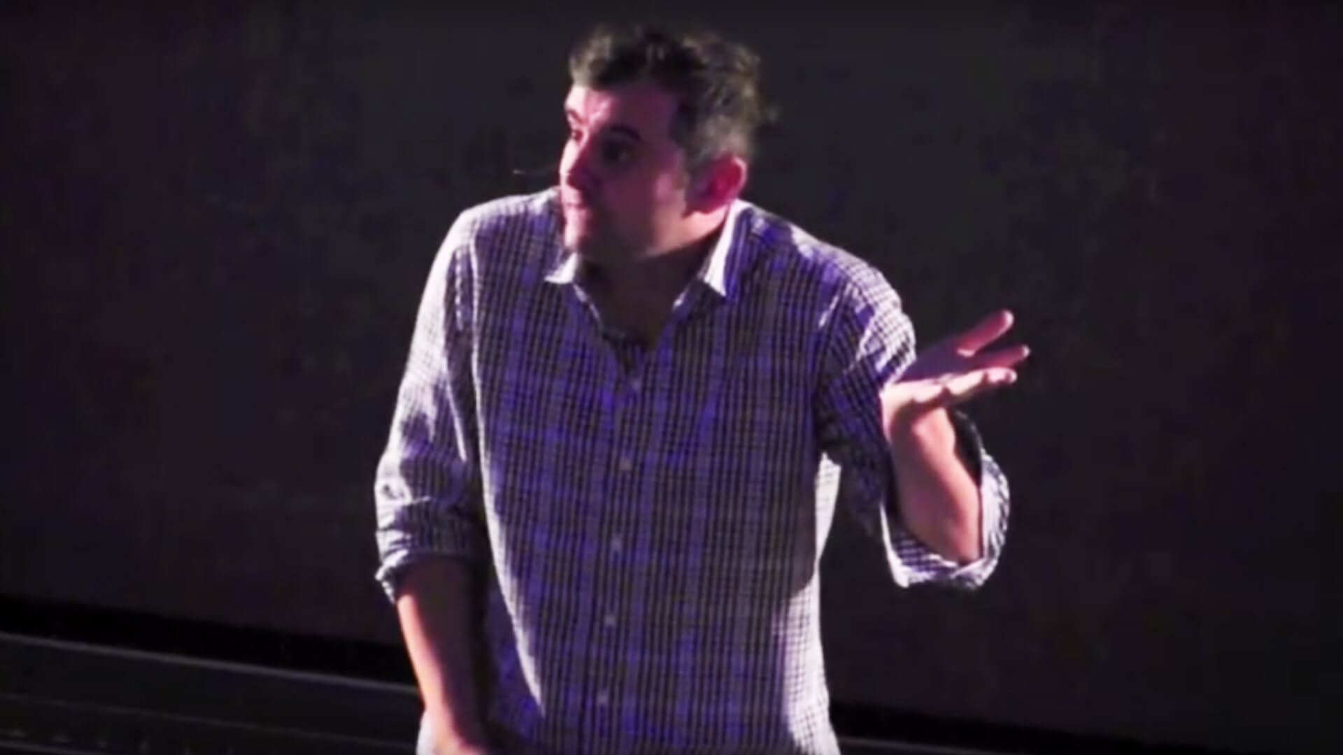 Gary Vaynerchuk gives a Q&A session with The Lamppost Group in Chattanooga