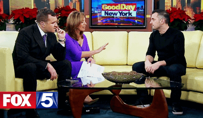 Gary Vaynerchuk talks Snapchat, Instagram, and Slack on Good Day New York on December 2015