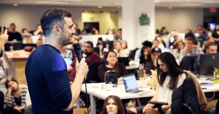 Gary Vaynerchuk Speaks to Employees at an All Hands Meeting