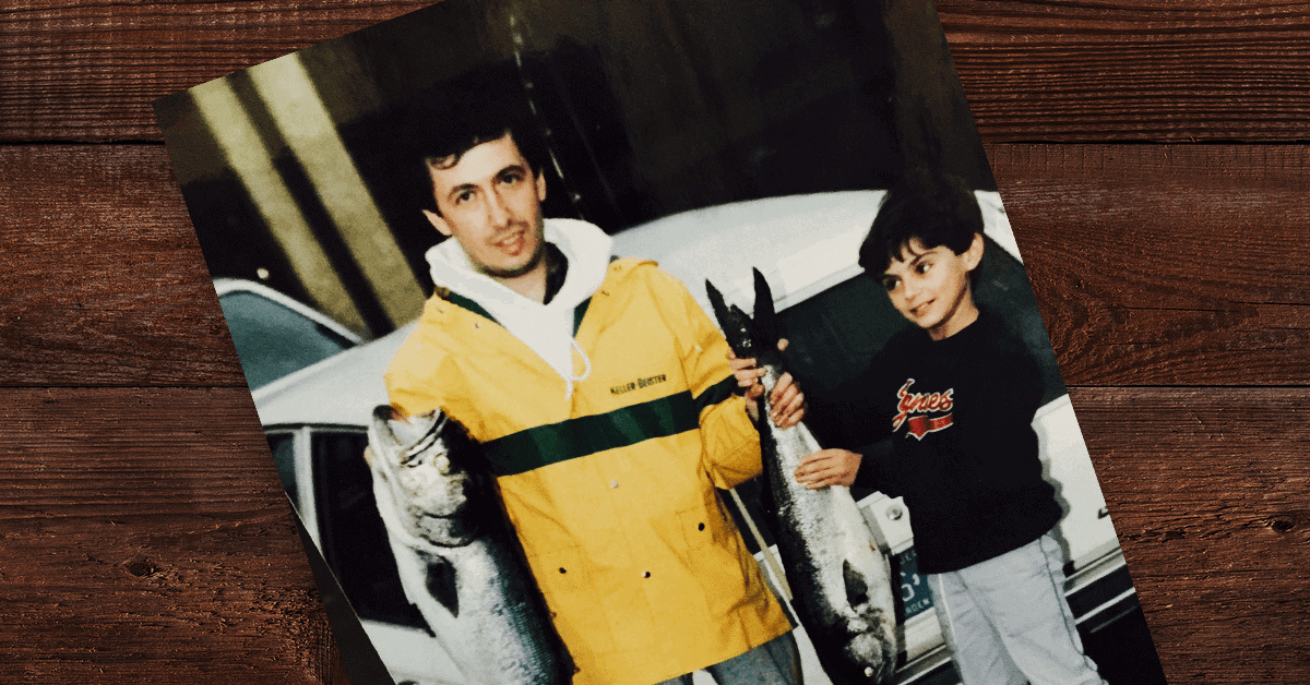 Gary Vaynerchuk and his father, Sasha Vaynerchuk