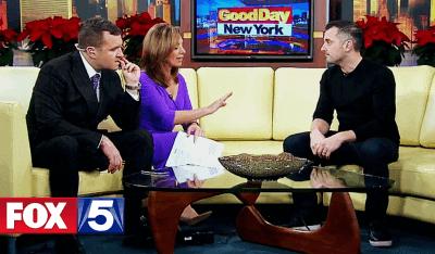 Gary Vaynerchuk talks Snapchat, Instagram, and Slack on Good Day New York on December 2015